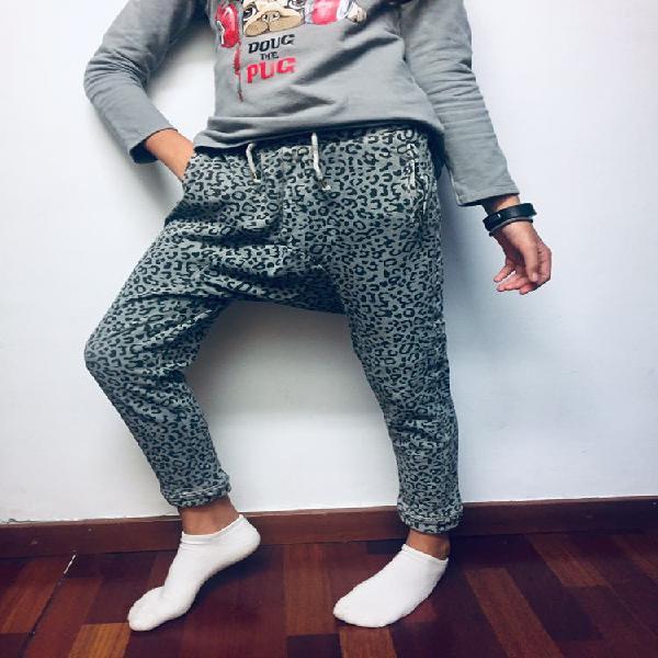 Pantalon baggy niña ( mango 9-10)