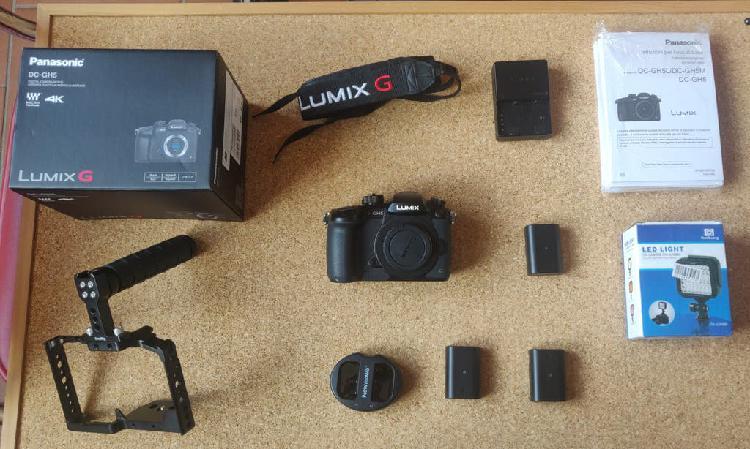 Panasonic gh5 + accesorios