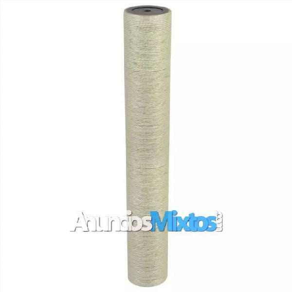 Poste rascador para gatos 8x55 cm 8 mm beige