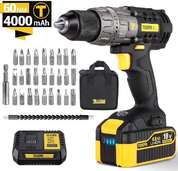 Taladro percutor batería 18v 60nm (nuevo)