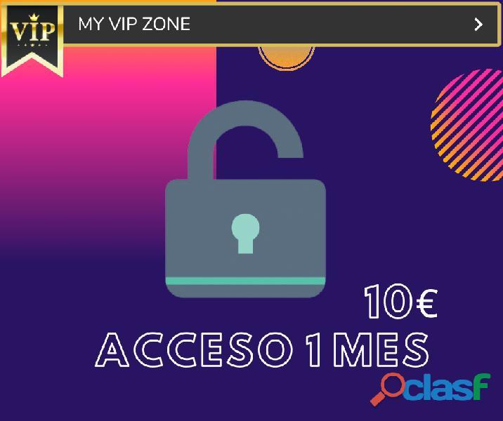 ???Acceso a mi Zona VIP / ???Acces to my VIP Zone