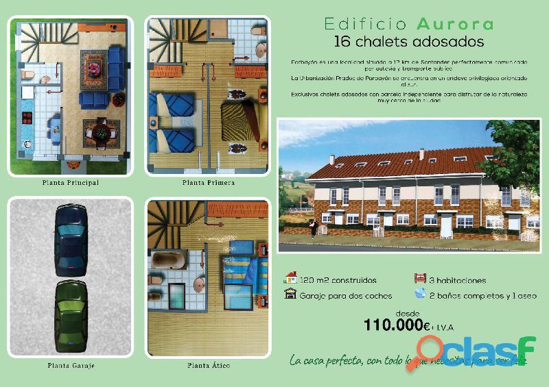 CHALETS ADOSADOS EN PARBAYON (CANTABRIA) 1