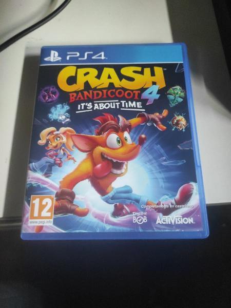 Juegos ps4 crash bandicoot 4 y sombras de mordor