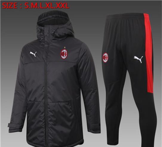 Ac milan,ajax,barcelona 2021 abrigos de futbol