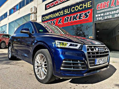 Audi q5 s line 2.0 tdi 140kw quattro s tronic 5p.