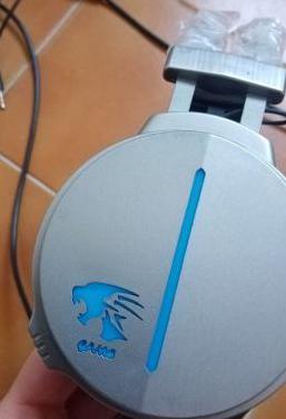 Auriculares gaming gamer headphone con microfono