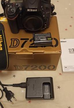 Cámara de fotos nikon d7200