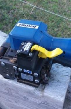 Flejadora de bateria fromm