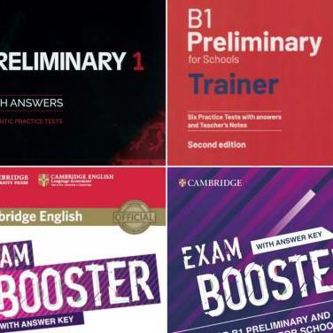 Libros preliminary english test pet cambridge b1