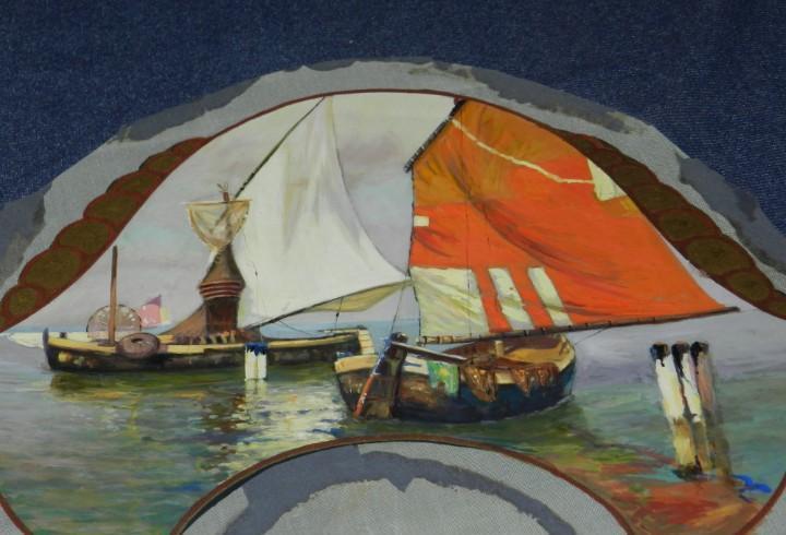 M) diseño original pintado a manos para realizar un