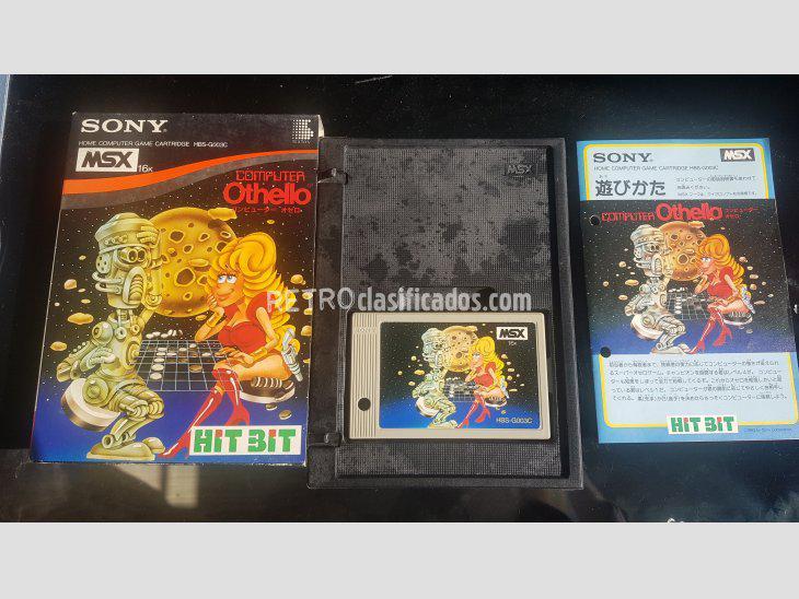 Se vende Computer Othello MSX HBS-H03C Sony Completo CIB