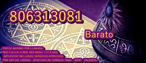 Tarot 806313081 barato experta en amor