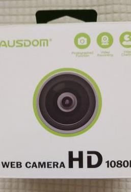 Web cam full hd 1080p con micrófono
