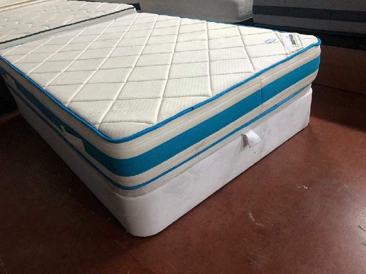 135x190 canapé retapizado blanco tapa3d colchón m