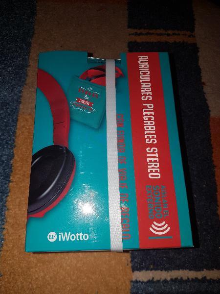 Auriculares plegables stereo | sin estrenar