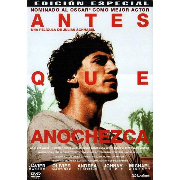 Antes Que Anochezca (Before Night Falls)