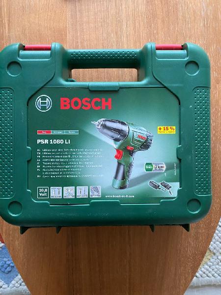 Bosch taladro inalámbrico