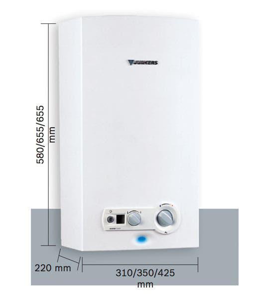 Calentador de agua a mitad de precio