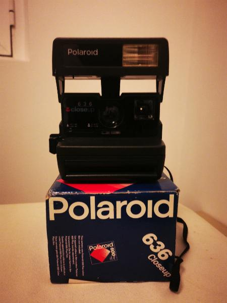 Cámara polaroid 636 close up