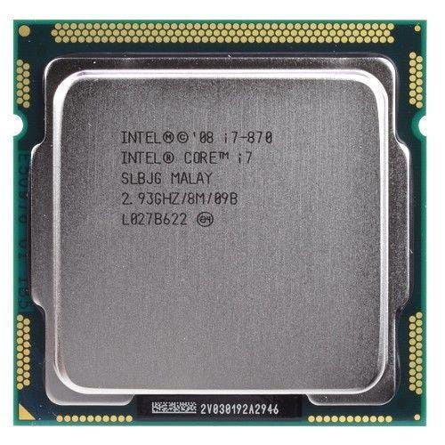 Core i7 870 2,93 ghz quad-core l3 8m