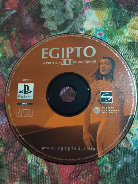 Egipto ii + demo de regalo pal españa solo disco