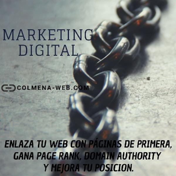 Marketing digital - seo - campañas linkbuilding