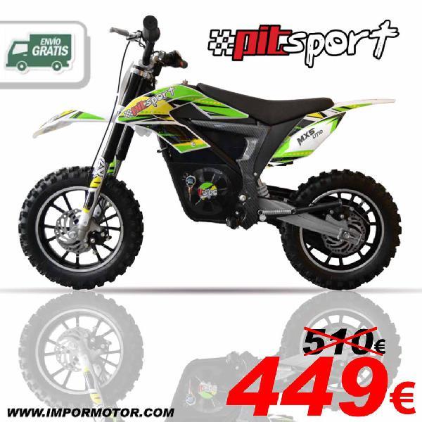 Minicross eléctrica 350w litio ¡novedad!
