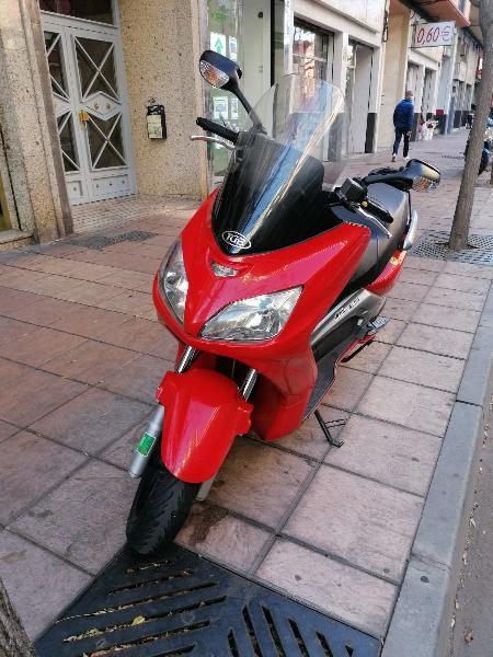 Moto scooter 125 (cambio de nombre incluido)