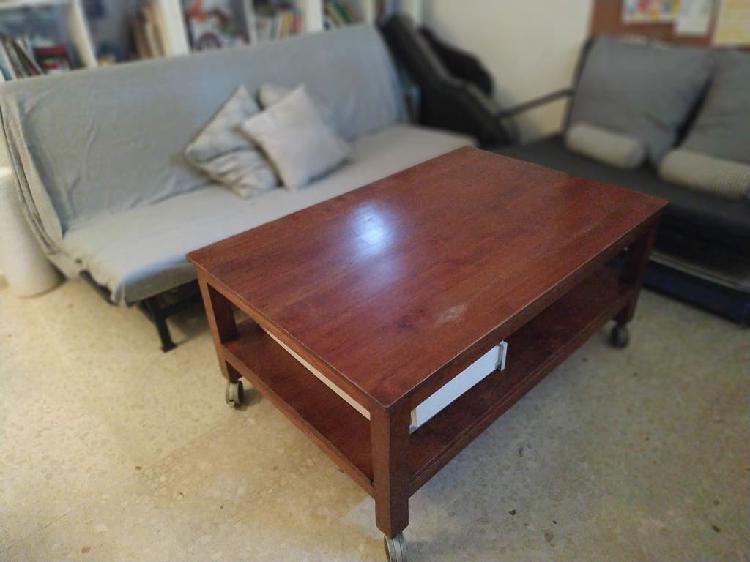 Mesa de madera maciza (teka)