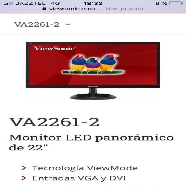 Monitor 22 pulgadas
