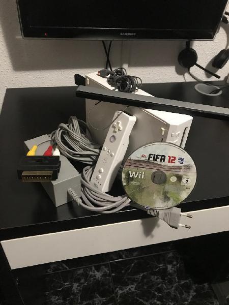 Nintendo wii + pendrive 128gb con 60 juegos