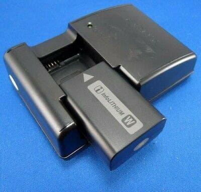 Pack batería sony np-fw50 + cargador sony bc-vw1