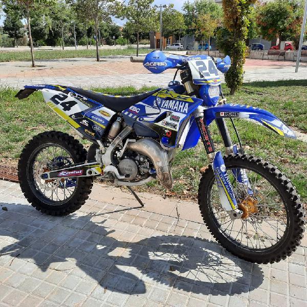 Yamaha yz 125 matriculada