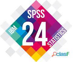 clases, practicas on line del programa estadístico spss