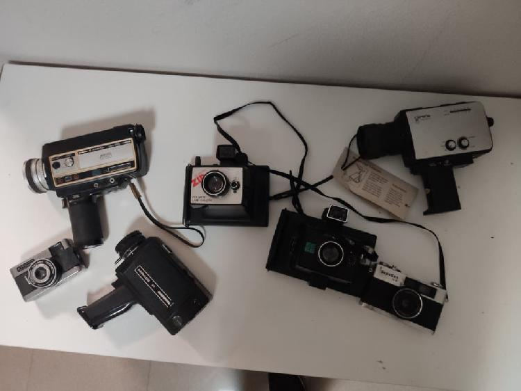 Lote camaras de foto antiguas