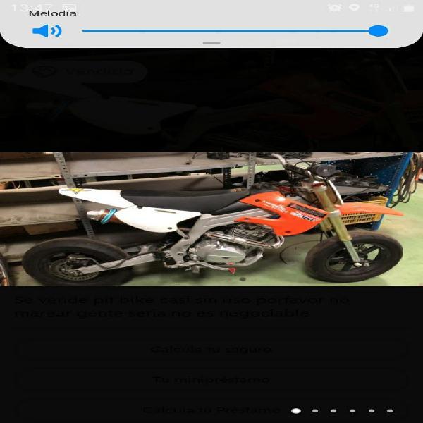 Pit bike rav 250 motard