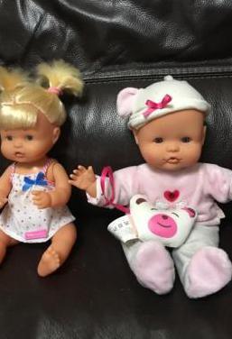 2 muñecos nenuco originales nene y nena