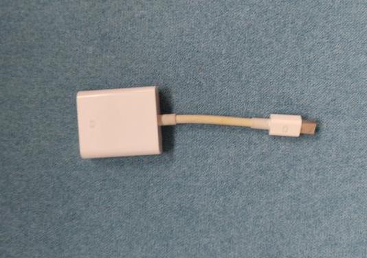 Adaptador apple - mini displayport a vga