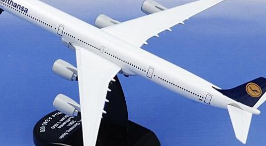 Avión airbus a340 lufthansa