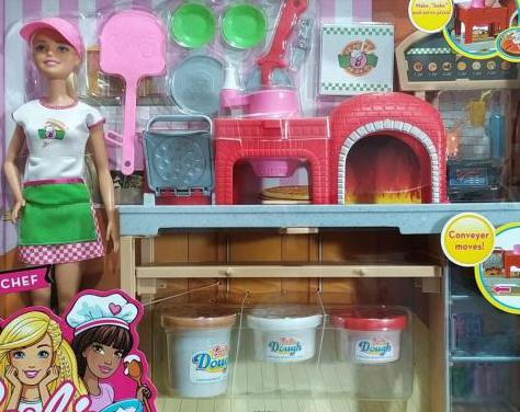 Barbie pizza chef y barbie you can be anything