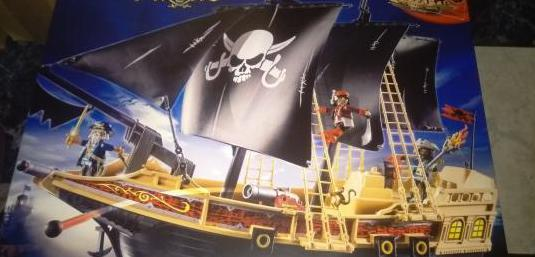 Barco pirata playmobil 6678