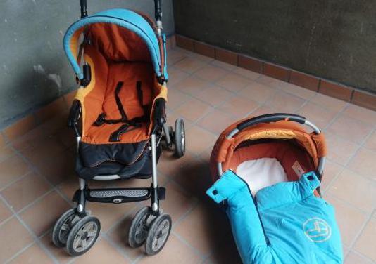 Conjunto silla paseo capazo jane nomad