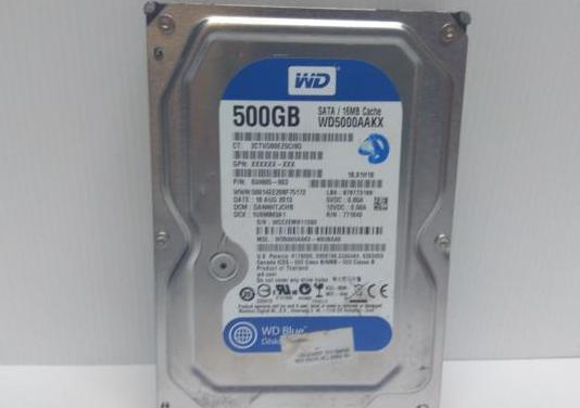 Disco duro 500gb western digital sata