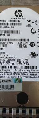 Disco duro servidor 2.5 hp 900gb