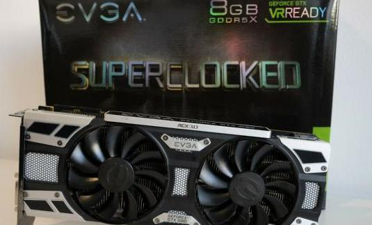 EVGA GeForce GTX 1080 SC Gaming ACX 3.0,