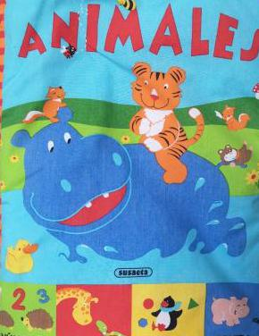 Libro infantil de tela «animales»