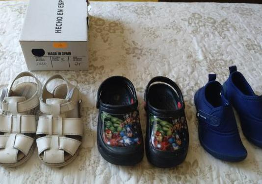 Lote calzado niño n°25