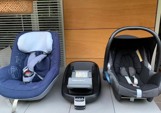 Maxi cosi silla familyfix de 0 a 4 años