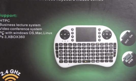 Mini teclado inalámbrico