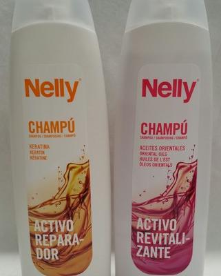 Nelly gama champús, keratina o aceites orientales 750ml